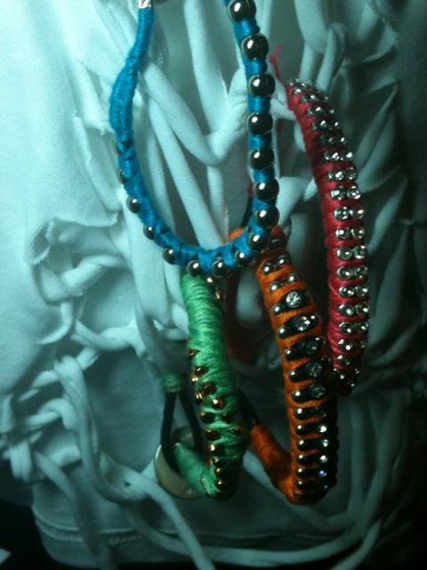 Unique strass bracelets