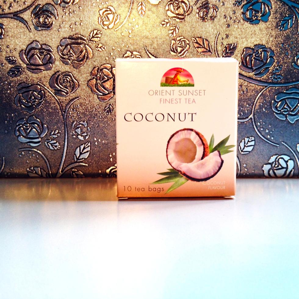 Coconut tea review by Marustan. Orient Sunset Finest tea
