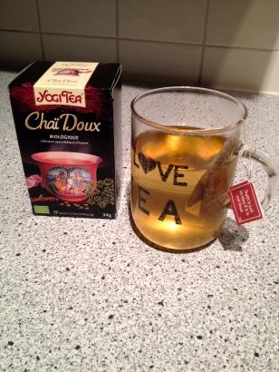 Sweet sips, Chai Tea, Yogi Tea review