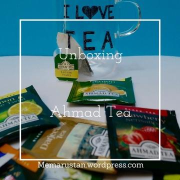 Unboxing Ahmad Tea
